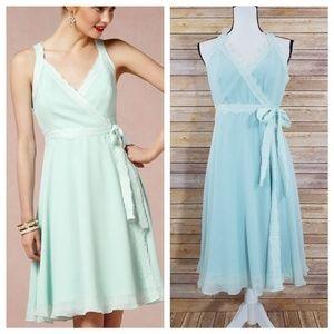 Anthro Va Et Vien 6 Wingspan Bridesmaid Dress